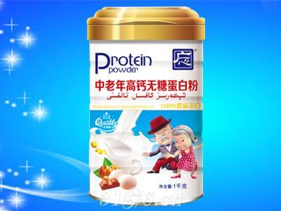 中老年高钙无糖蛋白粉